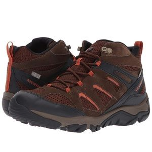 Merrell Men's Shoe Size 10.5 Hiking Trail Brown
